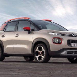 Vue avant : Citroën C3 Aircross